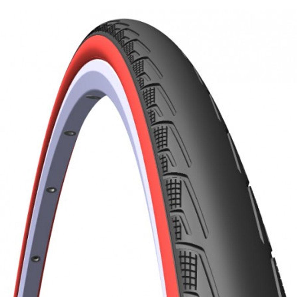 Велопокрышка Mitas V80 Syrinx 700 X 23C Черный/красный от КАНТ