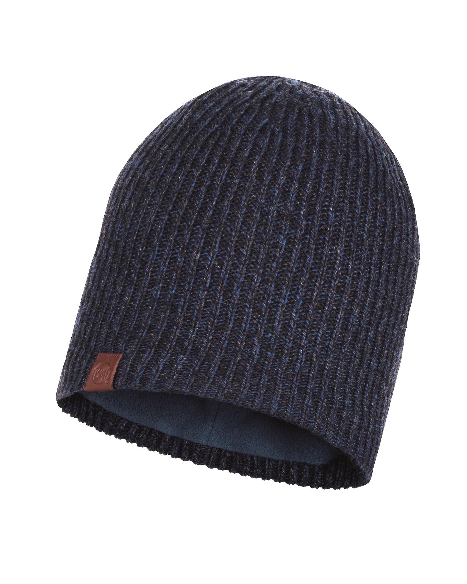 Шапка Buff Knitted & Polar Hat Lyne Night Blue