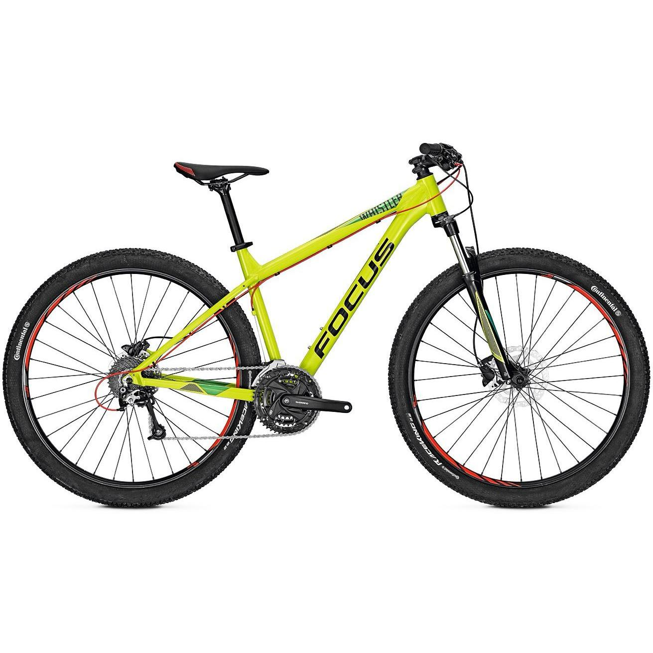 Велосипед Focus Whistler Evo 29 2018 Limegreen