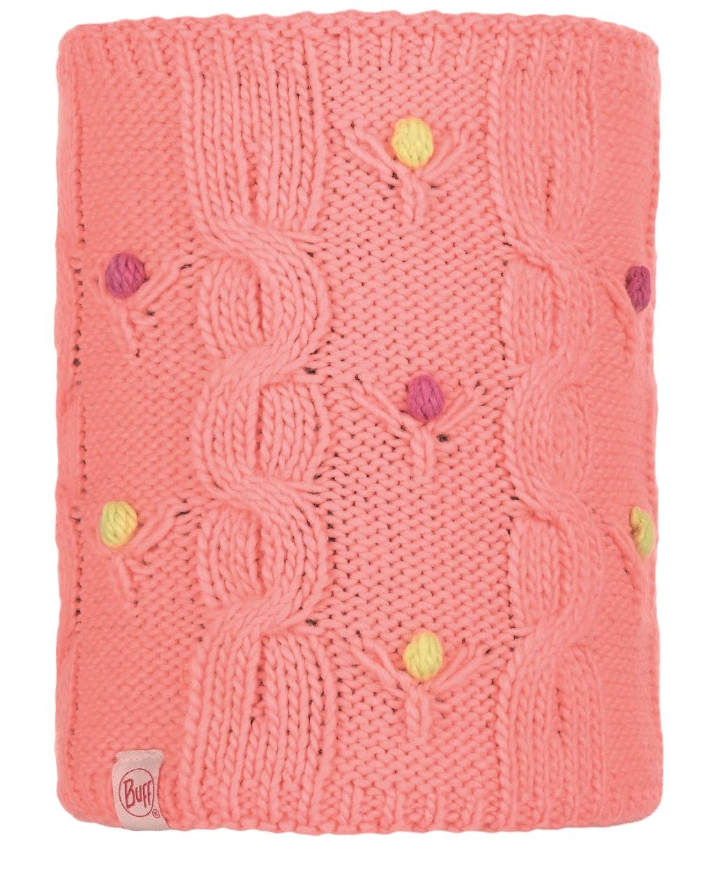 Шарф Buff Jr Knitted & Polar Neckwarmer Dysha Flamingo Pink