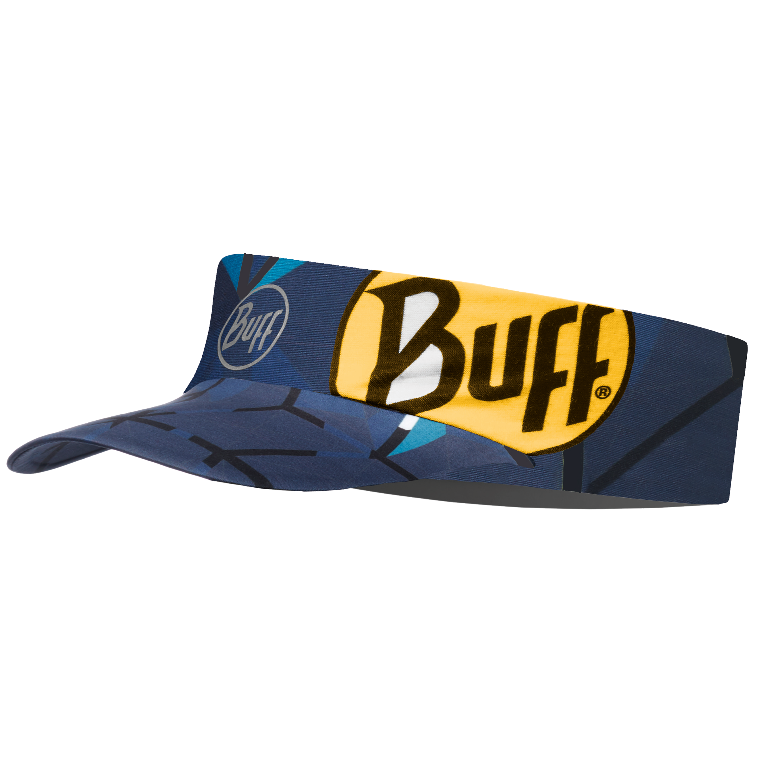 Купить Кепка BUFF PACK RUN VISOR HELIX OCEAN Банданы и шарфы Buff ® 1312896