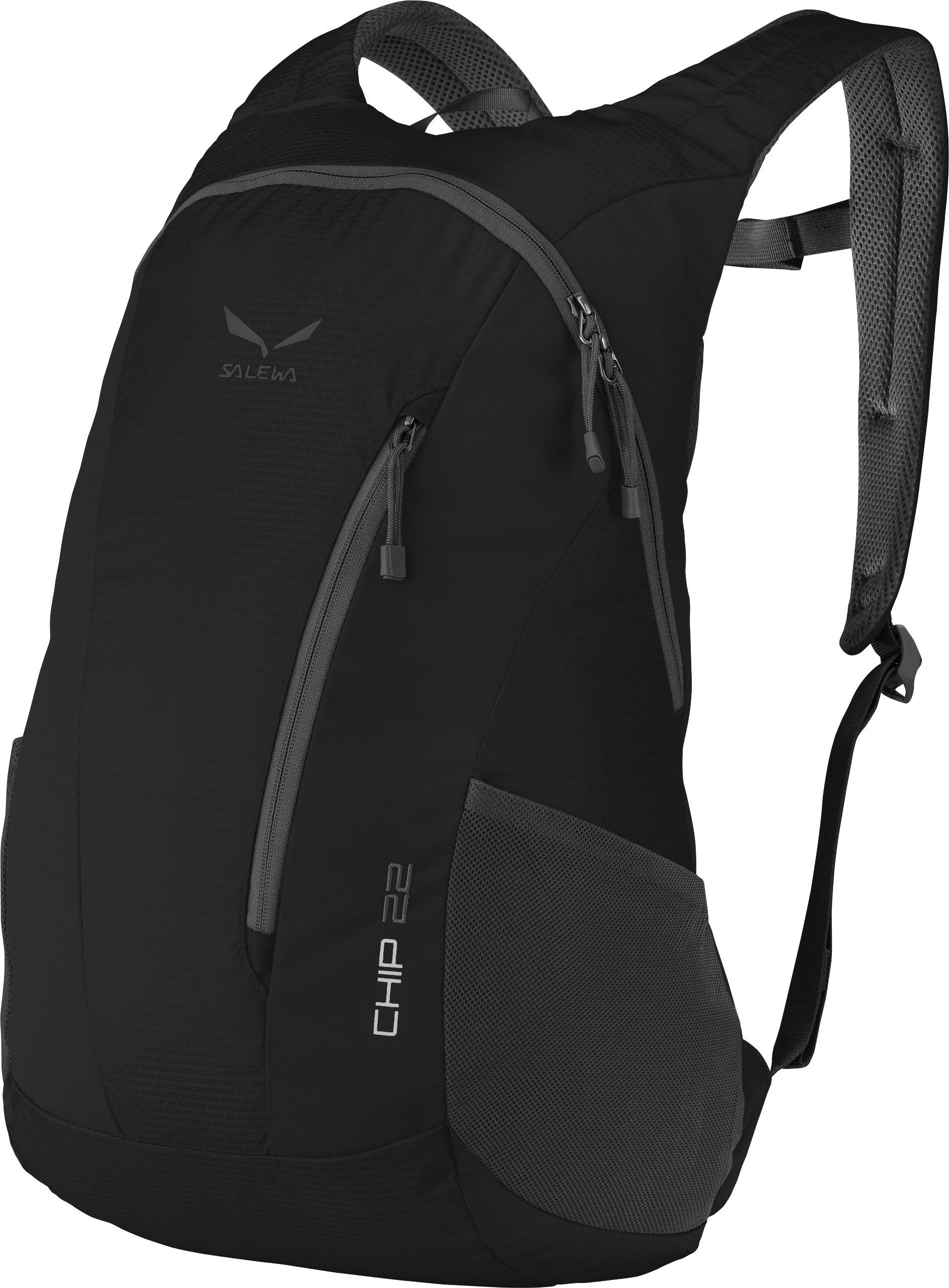 Купить Рюкзак Salewa Daypacks CHIP 22 BP BLACK / Рюкзаки городские 1166616