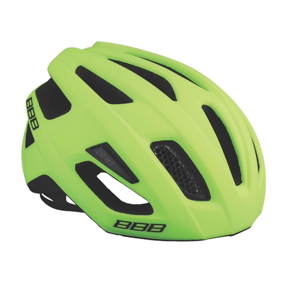 Купить Велошлем BBB 2018 Kite черный матовый/желтый, Шлемы велосипедные, 1298117