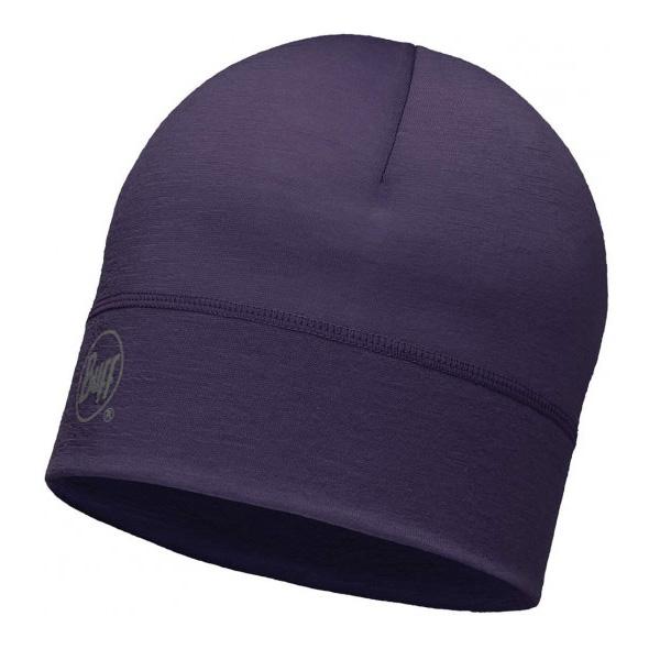 Купить Шапка BUFF WOOL MERINO 1 LAYER HAT SOLID PLUM Банданы и шарфы Buff ® 1263592