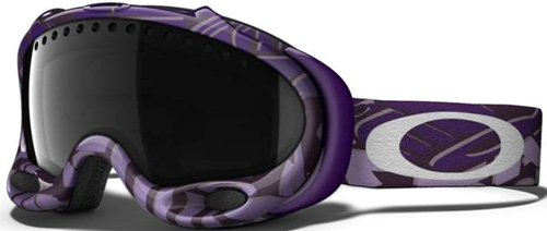 Очки горнолыжные Oakley A-Frame purple block text/dark grey