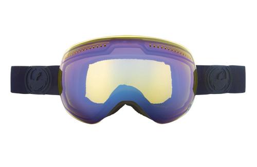 Купить Очки горнолыжные DRAGON APX Knight Rider (Yellow-Blue-Ionized) 910470