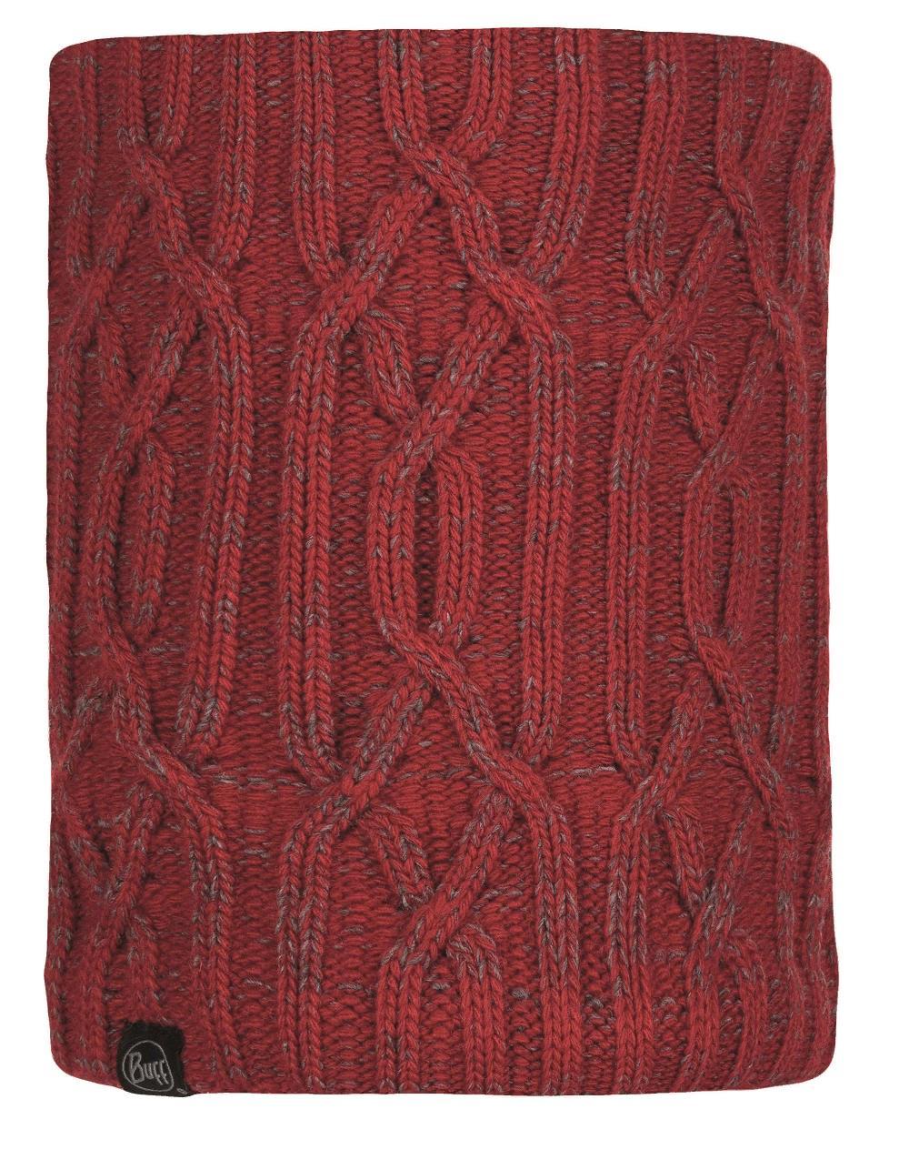 Шарф Buff Knitted & Polar Neckwarmer Idun Red
