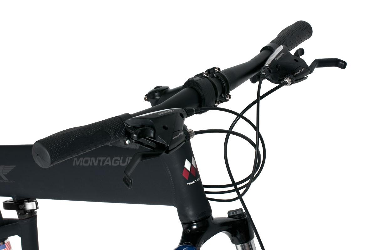 Велосипед Montague Paratrooper Pro 27 Speed 26 With Rackstand 2017 Матовый Черный