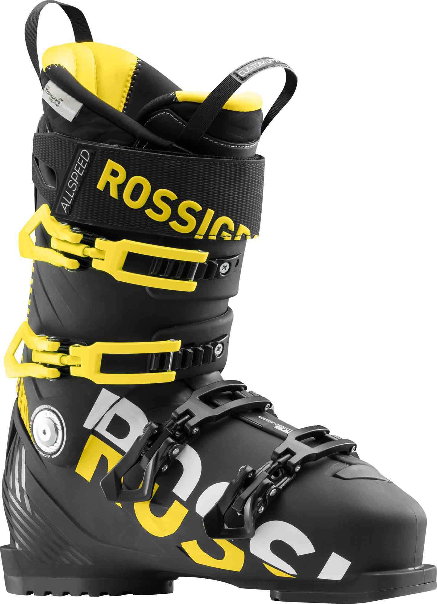 Купить Горнолыжные ботинки ROSSIGNOL 2017-18 ALLSPEED PRO 110 BLACK, Ботинки горнoлыжные, 1363771