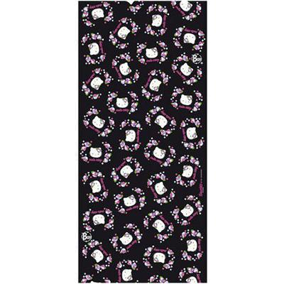 Купить Бандана BUFF FLOWERS BLACK Jr. Банданы и шарфы Buff ® 762880