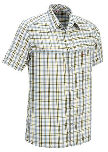 Купить Рубашка для активного отдыха MAIER 2012 WOLMAR PRINT коричневый/принт Одежда туристическая 787635
