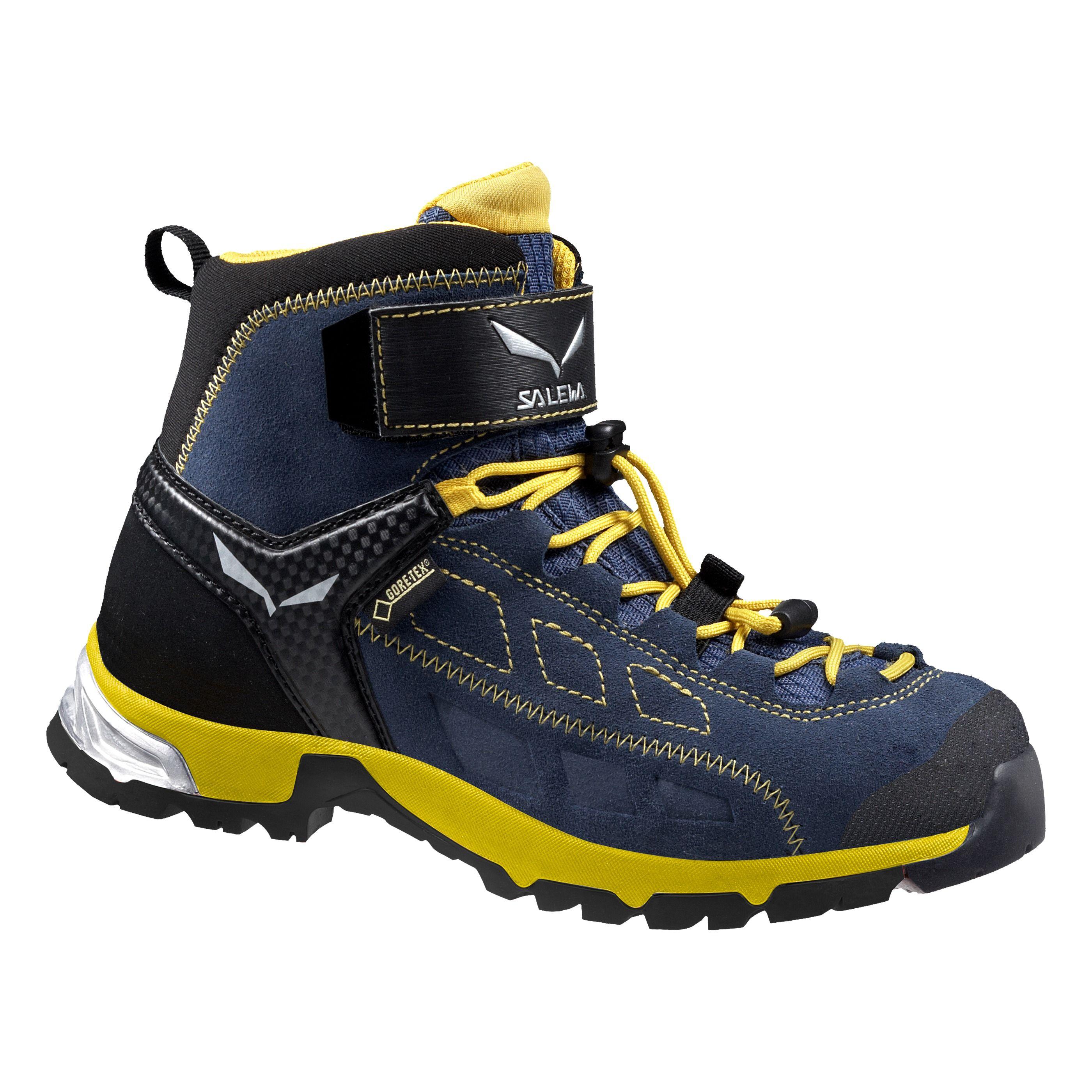 Купить Ботинки городские (высокие) Salewa Junior Approach JR ALP PLAYER MID GTX Winter Night/Ringlo Обувь для города 1205833