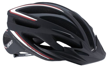Купить Летний шлем BBB Taurus black red Шлемы велосипедные 713621