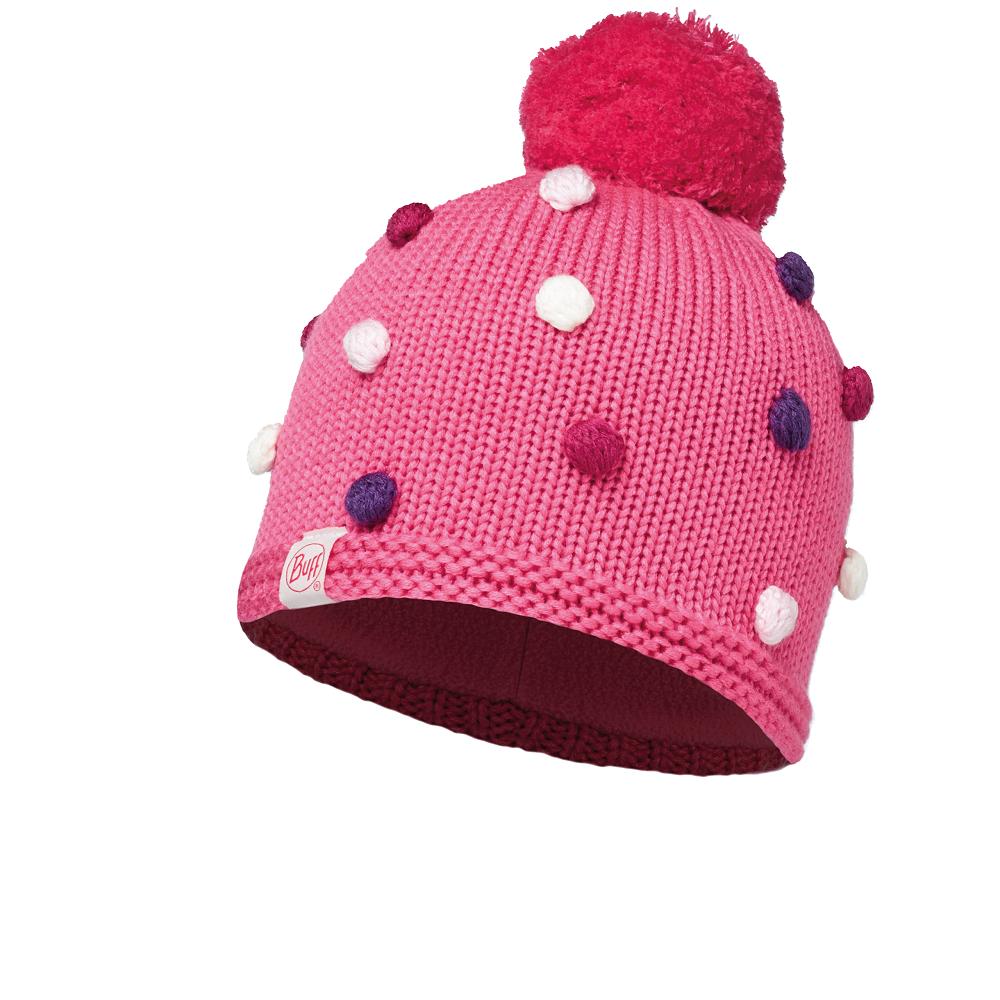 Купить Шапка BUFF KNITTED KIDS COLLECTION CHILD & POLAR HAT ODELL IBIS ROSE/OD Банданы и шарфы Buff ® 1343665