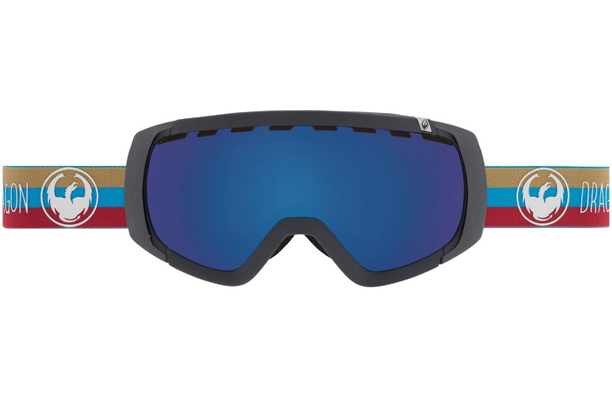 Очки горнолыжные DRAGON 2015-16 ROGUE Layer / Dark Smoke Blue, Yellow Red Ion 1220923  - купить со скидкой