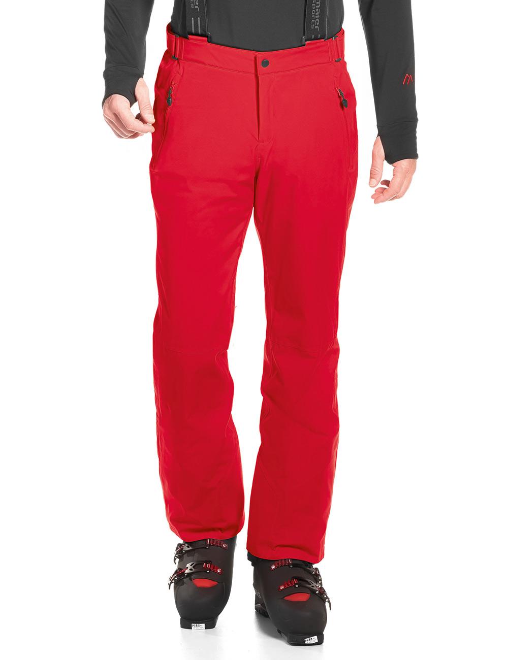 Купить Брюки горнолыжные MAIER 2017-18 Anton light chinese red Одежда горнолыжная 1280495