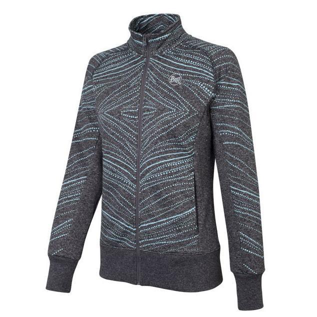 Купить Жакет для активного отдыха BUFF Khumbila (Jetblack) черный Одежда туристическая 808222