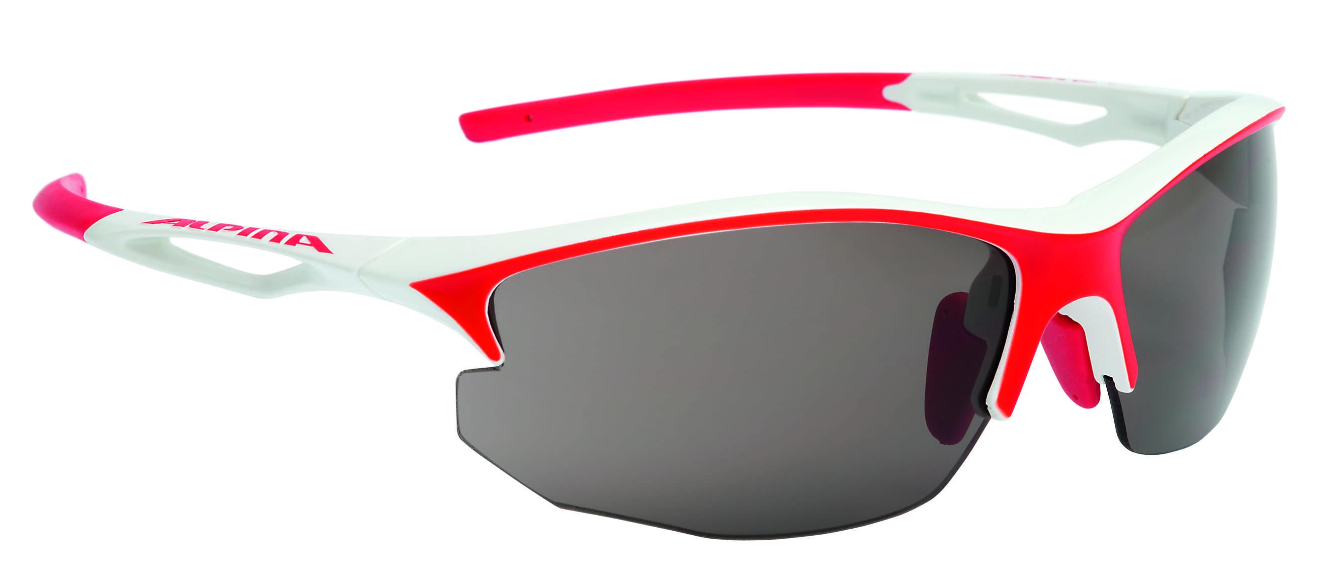 Купить Очки солнцезащитные Alpina PERFORMANCE SORCERY HR C+ white-red matt, солнцезащитные, 1180499