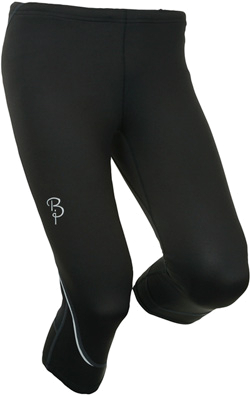Тайтсы беговые Bjorn Daehlie Tights STRIVE Mid Long Women (Black) черный