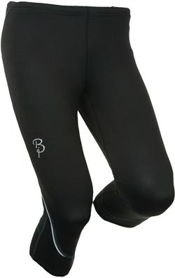 Купить Тайтсы беговые Bjorn Daehlie Tights STRIVE Mid Long Women (Black) черный Одежда для бега и фитнеса 669580