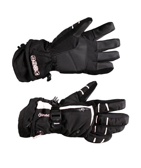 Купить Перчатки горные GLANCE Fusion (black/white) черный/белый Перчатки, варежки 789959