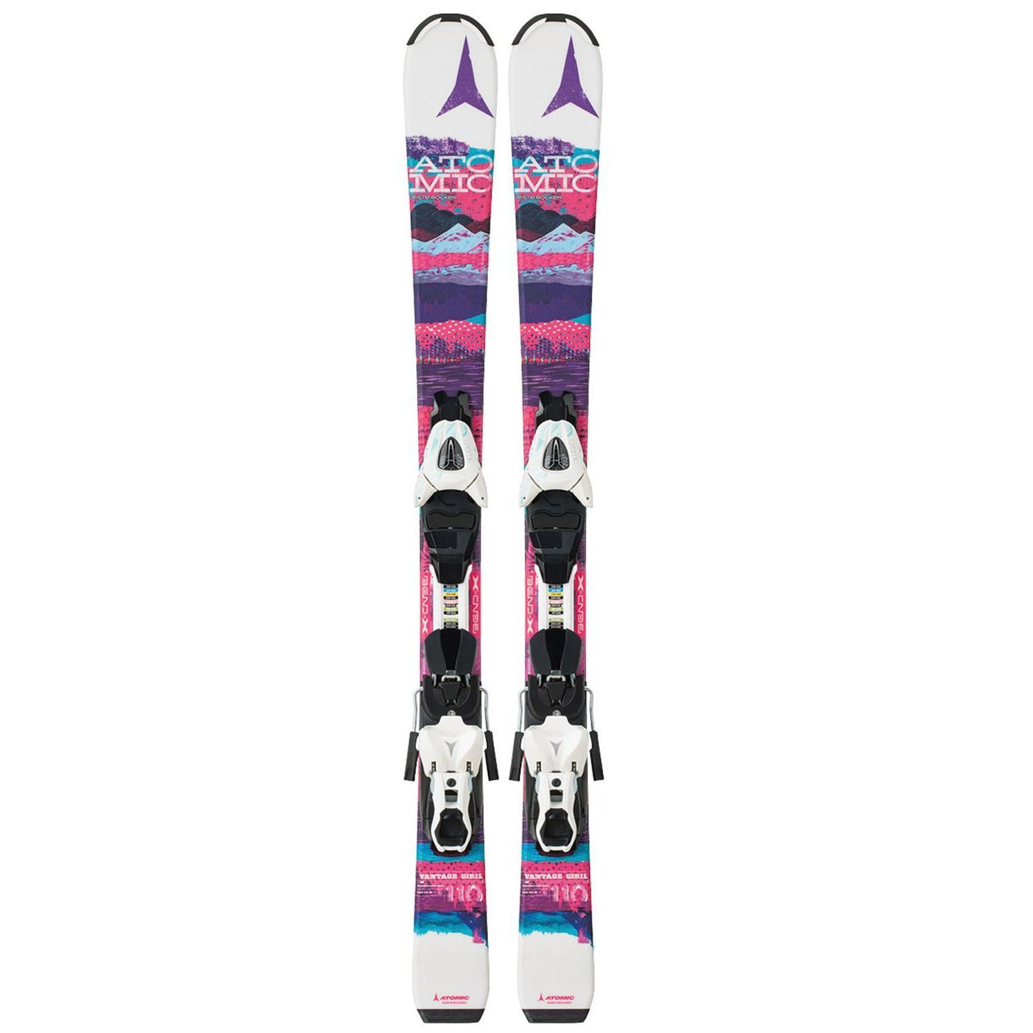Купить Горные лыжи с креплениями Atomic 2015-16 VANTAGE GIRL II + XTE 045, лыжи, 1195309