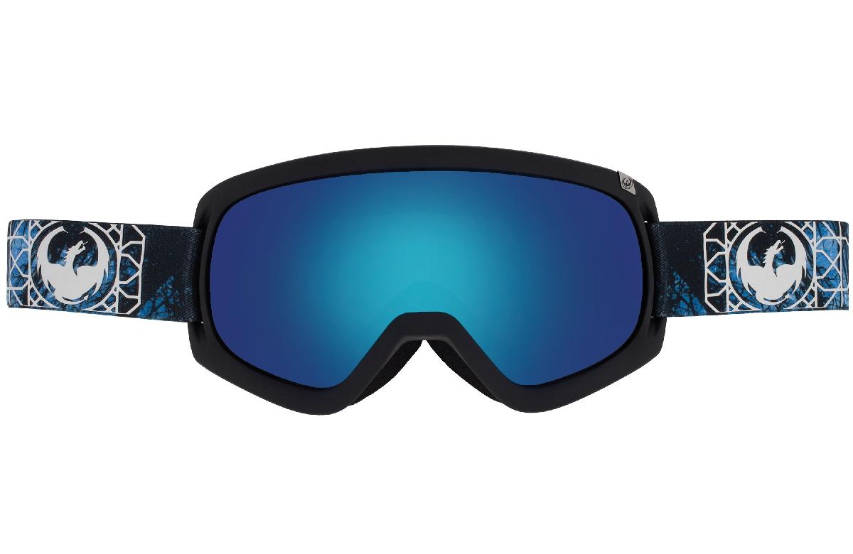 Купить Очки горнолыжные DRAGON 2015-16 D3 Dense / Blue Steel, Yellow Red Ion, горнолыжные, 1220939