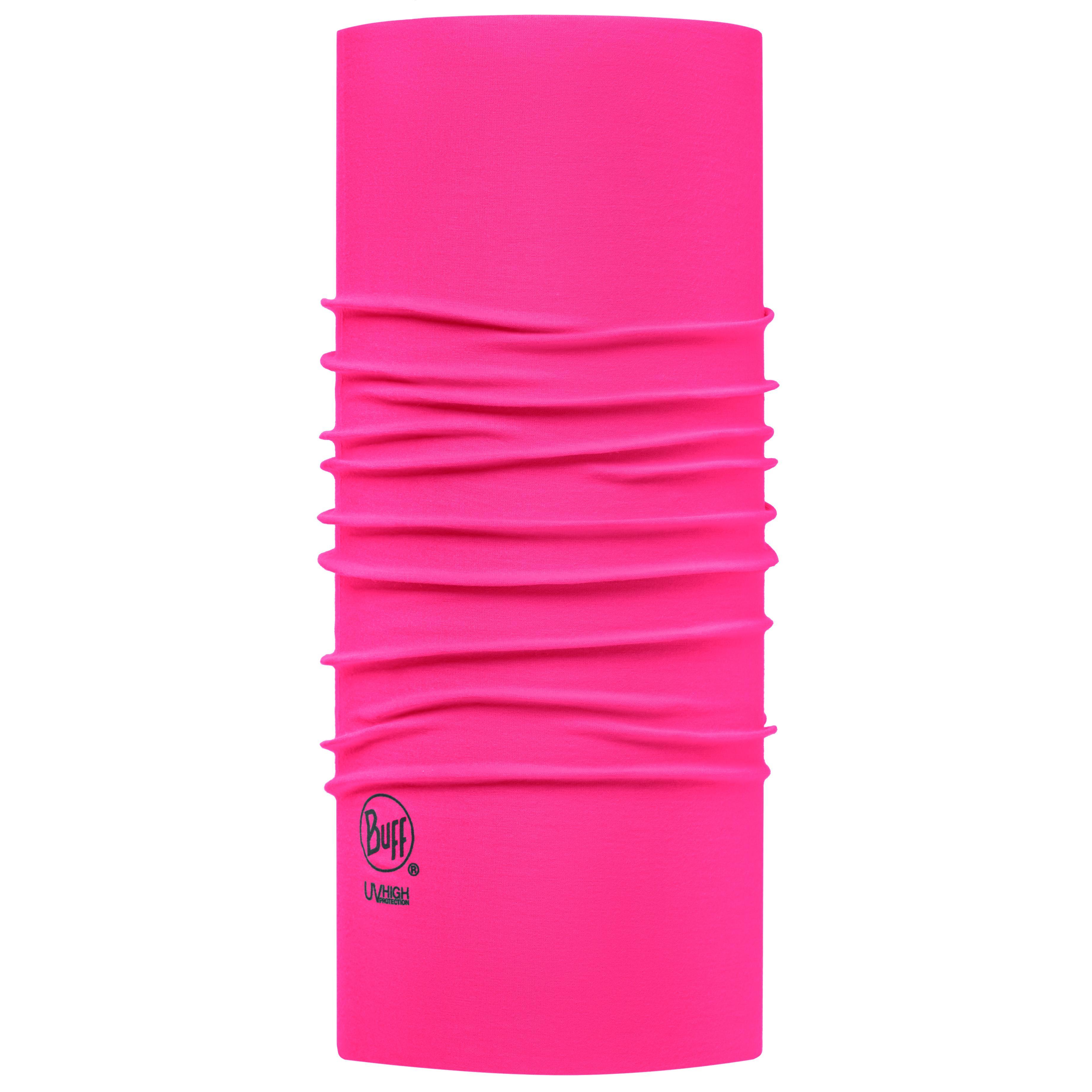 Купить Бандана BUFF High UV SOLID RASPBERRY PINK Банданы и шарфы Buff ® 1312828