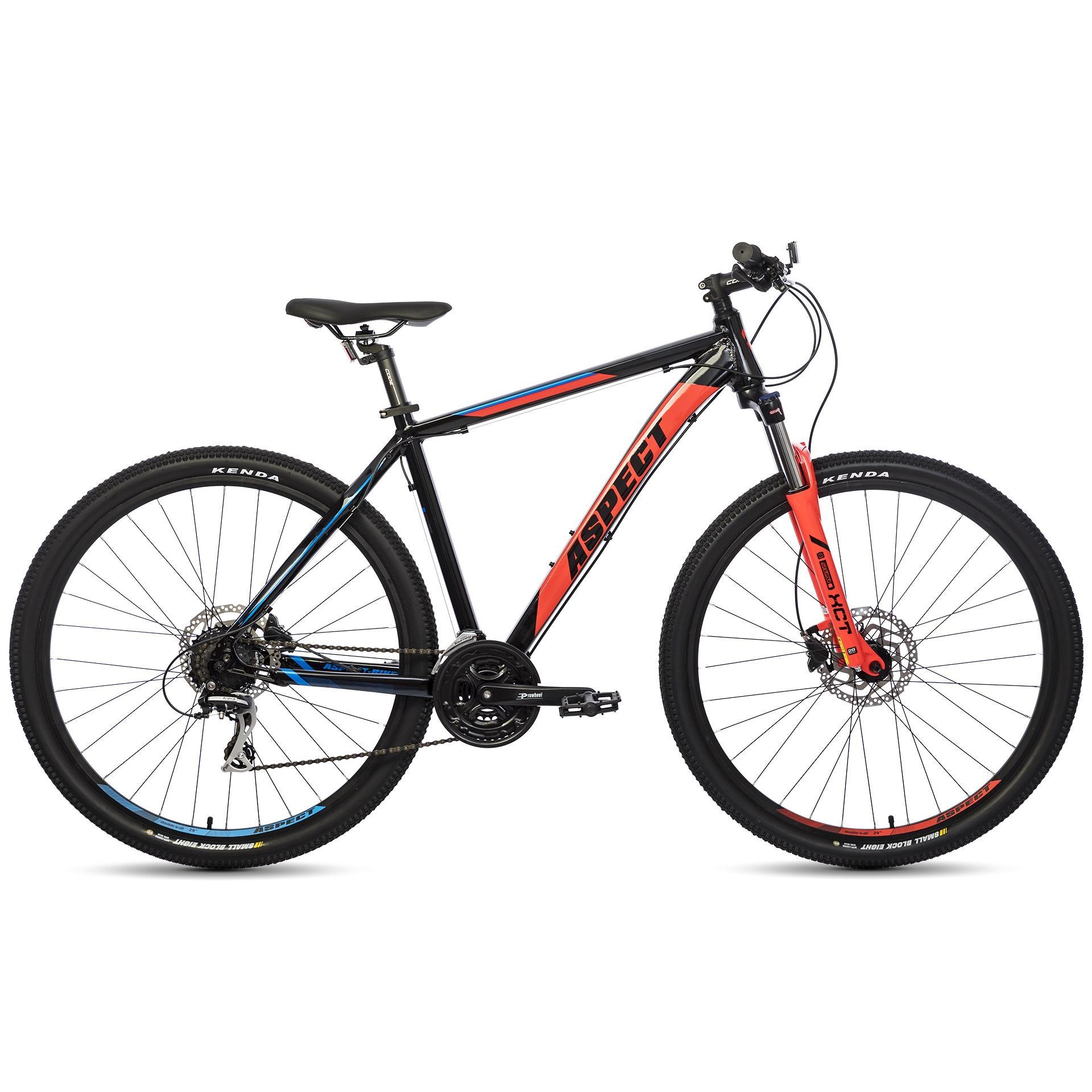 Велосипед Aspect Mountain 2018 Черно-Красный