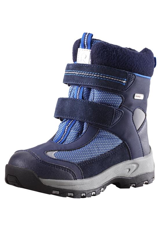 Купить Ботинки городские (высокие) Reima 2016-17 KINOS СИНИЙ Обувь для города 1274404