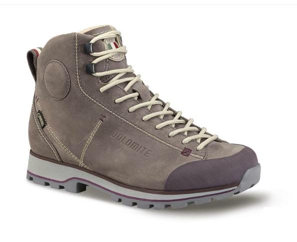 Купить Ботинки городские (высокие) Dolomite 2017-18 Cinquantaquattro High Fg Gtx Dark Violet Обувь для города 1356602