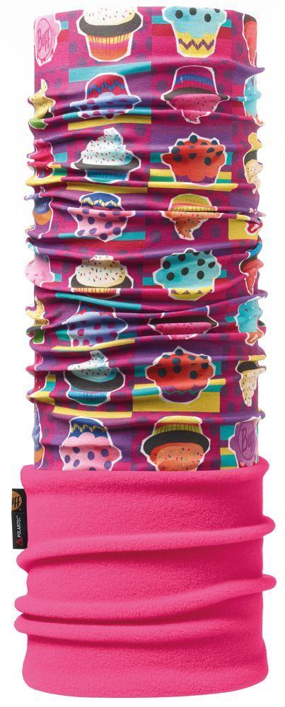 Бандана BUFF Polar Buff CUPCAKE / RASPBERRY Детская одежда 1168933  - купить со скидкой