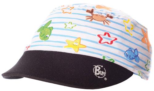 Купить Кепка BUFF VISOR EVO 2 FUN SEA Jr., Детская одежда, 721329