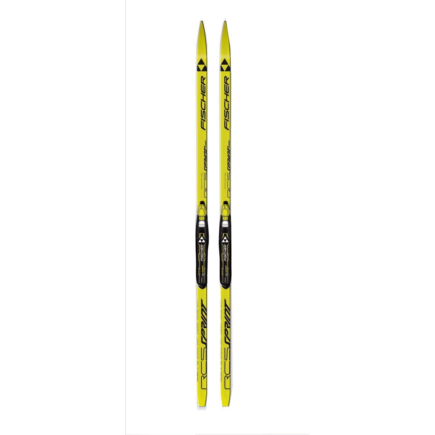 Беговые лыжи FISCHER 2016-17 SPRINT CROWN YELLOW JR. Беговые лыжи  Код  товара для заказа по телефону  1290553 2d21ef20e7c