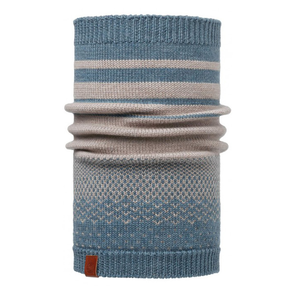 Шарф Buff Knitted Neckwarmer Buff Mawistone Blue-Stone Blue