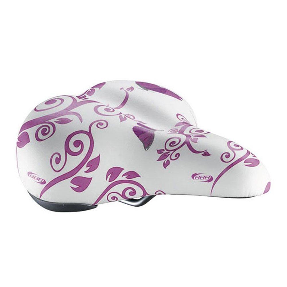 Купить Седло Bbb Saddle Graphicshape Butterfly Pink Anatomic B.fly Pink, женский, Седла и подседельные штыри