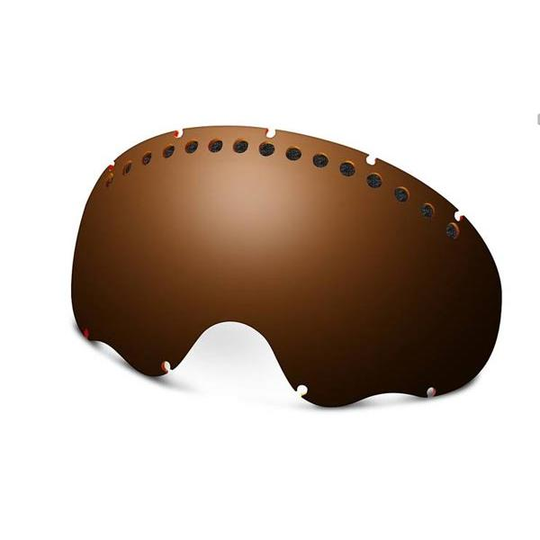 Купить Запасные линзы Oakley A FRAME BLACK IRIDIUM, Очки горнолыжные, 67420