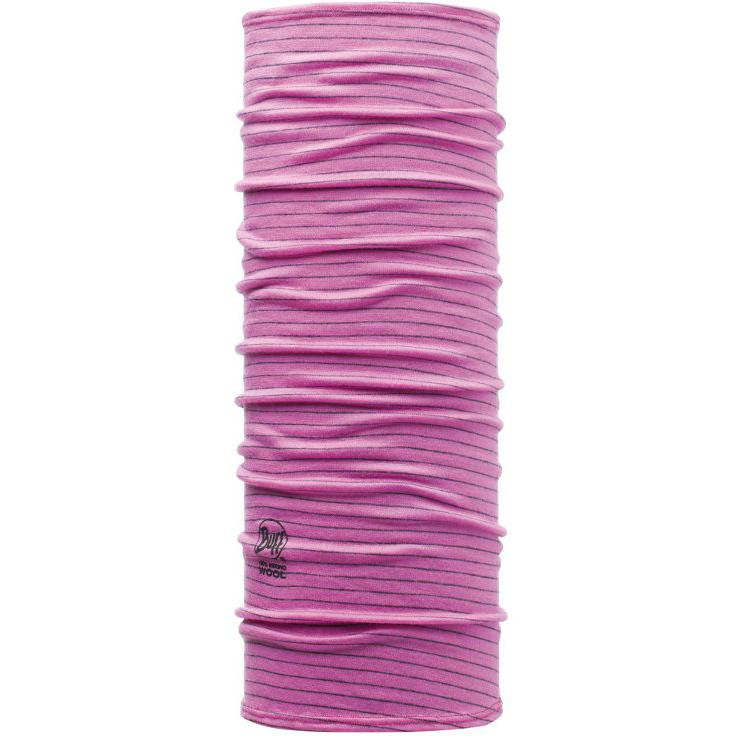 Купить Бандана BUFF Wool Patterned & Dyed Stripes JUNIOR CHILD WOOL ROZE Банданы и шарфы Buff ® 1079236