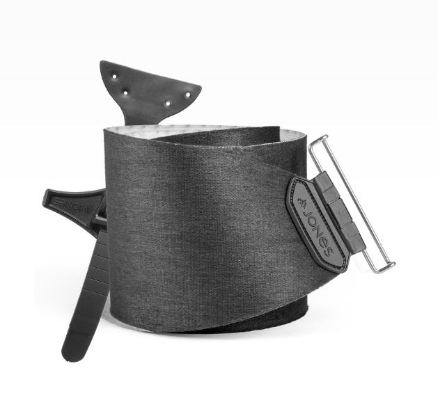 Купить Камус для сплитборда Jones 2017-18 NOMAD PRO W/ QT.TC BLK, Аксессуары, 1342276