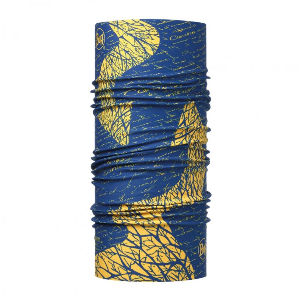 Бандана BUFF High UV CAMINO SIGNAL ROYAL BLUE/OD Банданы и шарфы Buff ® 1343507  - купить со скидкой