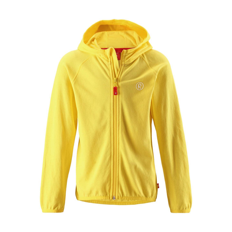 Купить Толстовка для активного отдыха Reima 2018 Mearra YELLOW, Детская одежда, 1397742