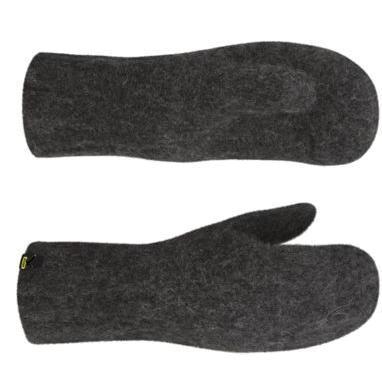 Купить Варежки Salewa MITTENS GREY carbon, Перчатки, варежки, 839734
