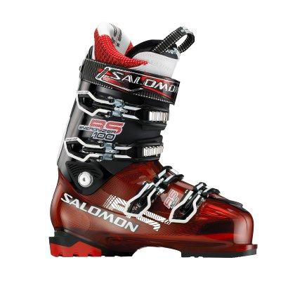 Купить Горнолыжные ботинки SALOMON 2012-13 RS 100 Red Translu./Black, Ботинки горнoлыжные, 814225