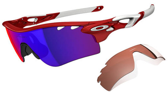 Очки солнцезащитные Oakley Radarlock Path Infrared w/Positive Red Iridium&VR28