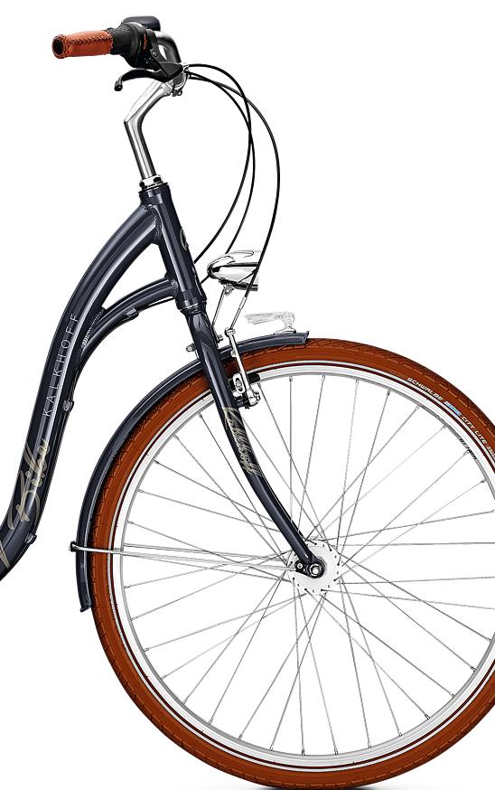 Велосипед Kalkhoff City Glider 7 2018 Bluegranite
