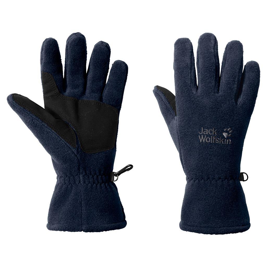 женские перчатки jack wolfskin, синие