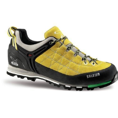 Купить Ботинки для альпинизма Salewa Alpine Approach Mens MS MTN TRAINER limeade-black, Альпинистская обувь, 896461