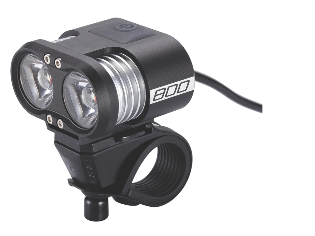 Фонарь Передний Bbb Scope 800 Lumen Led Black