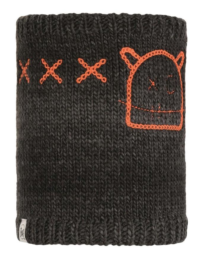 Шарф Buff Child Knitted & Polar Neckwarmer Monster Jolly Black Child