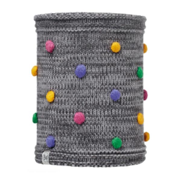 Купить Шарф BUFF CHILD KNITTED & POLAR NECKWARMER ODELL GREY VIGORE, Банданы и шарфы Buff ®, 1263890